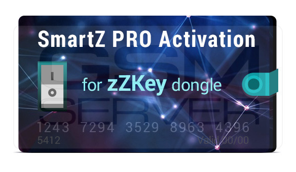 zZKey SmartZ PRO Activation Already in GsmServer Online Store!