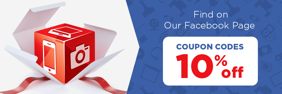 Get 10% Discount on Facebook Every Day!
