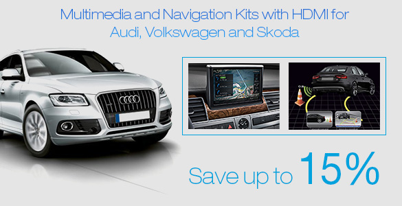 Multimedia and navigation for Audi
