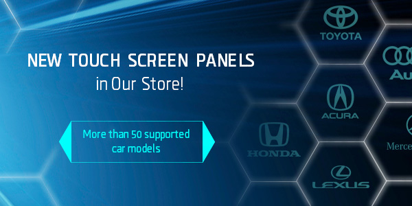 New touch screen panels