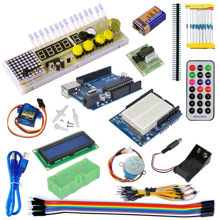 Electronic Construction Set Haitronic Arduino Starter Kit
