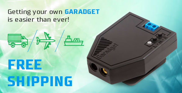 Garadget Remote Garage door opener
