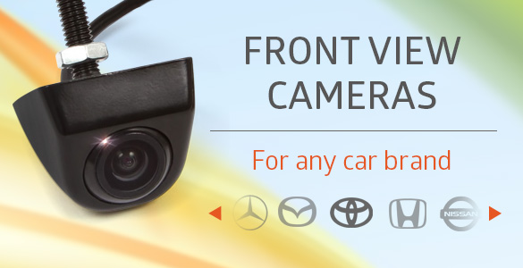 Front view cameras for any car