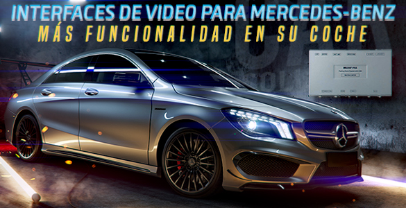 Interfaces de video para Mercedes-Benz