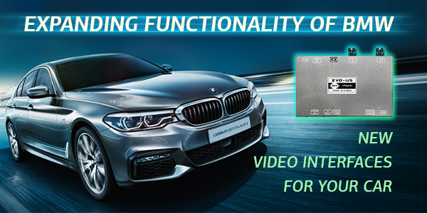 New Video Interfaces: Expanding Functionality of BMW