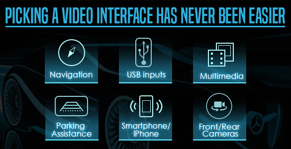 Video interface selection wizard