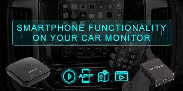 Smartphone Functionality on Your Car Monitor!