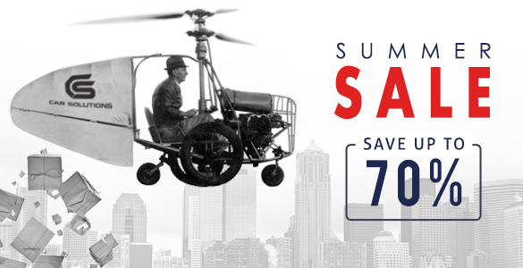 Summer Sale from Car Solutions!