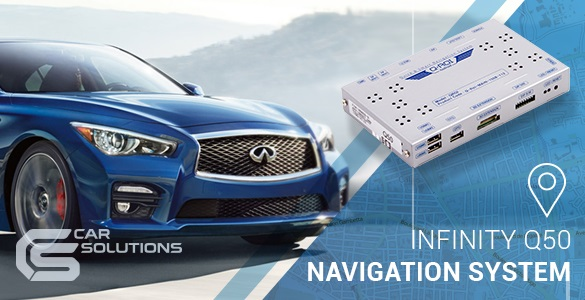 Navigation Upgrade for Your Infiniti Q50