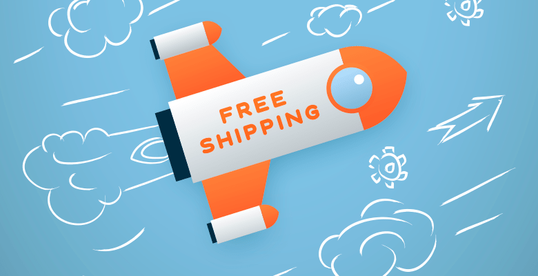 free shipping all over the world