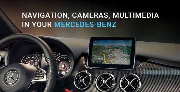 Navigation, Cameras, Multimedia – in Your Mercedes-Benz!