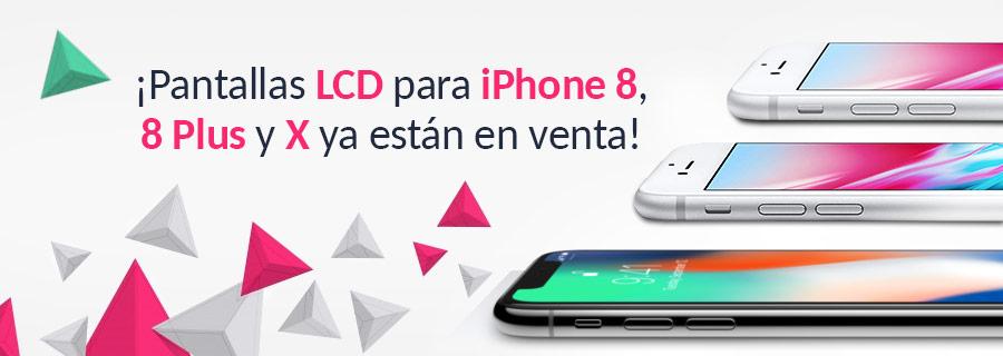 3ff3bbf78c4 Repuestos para iPhone 8, 8 Plus y X ya están en venta! - All Spares