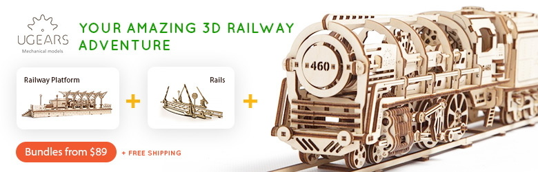 Your Amazing 3D Railway Adventure