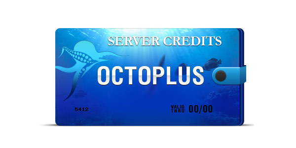 New Octoplus Credits Comsumption