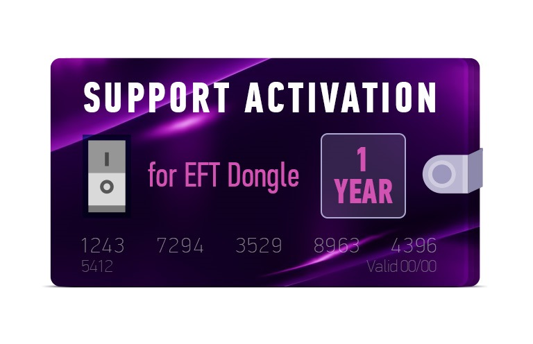 New EFT Dongle Activation