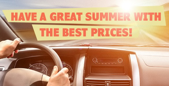 Have a Great Summer with the Best Prices from Car Solutions!