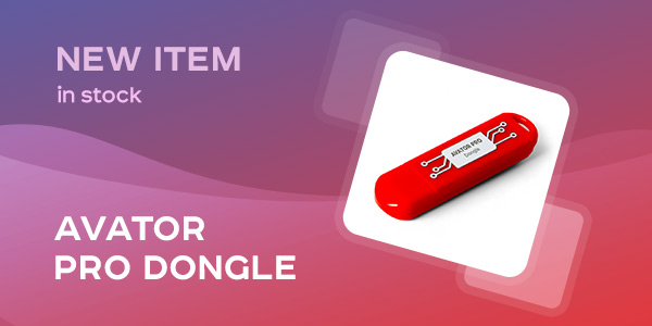 New Avator Pro Dongle
