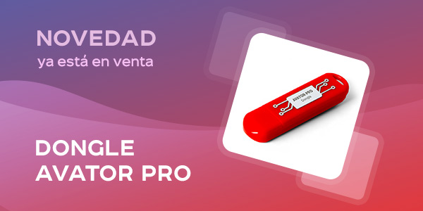 Nuevo Dongle Avator Pro