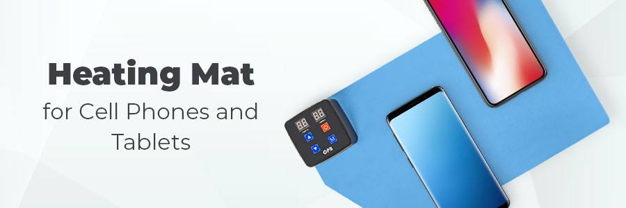 Heating Mat for Cell Phones and Tablets