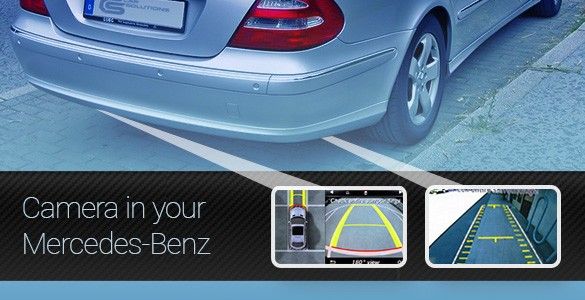 Feel Safer with Cameras in Your Mercedes-Benz