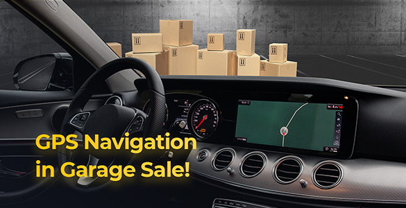 GPS Navigation on Android in Garage Sale!
