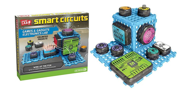 Развивающие-игрушки SmartLab Toys Smart Circuits Games & Gadgets Electronics Lab