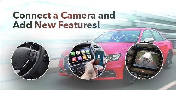 Connect a Camera and Add New Features with One Solution!