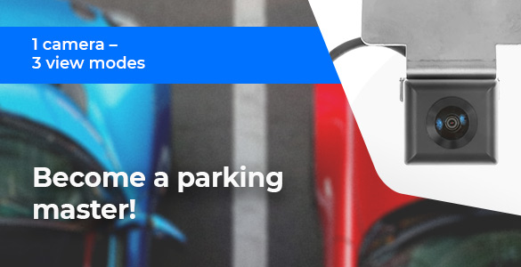 Become a Parking Master with Universal Front Camera System!