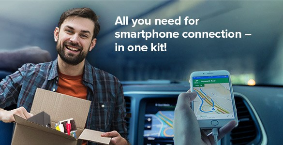 All You Need for Smartphone Connection – in One Kit!