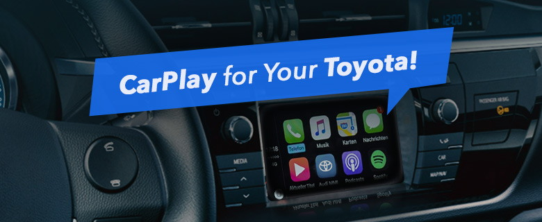 Connect and Use iPhone in Your Toyota Camry with Our Brand-New CarPlay Kit!