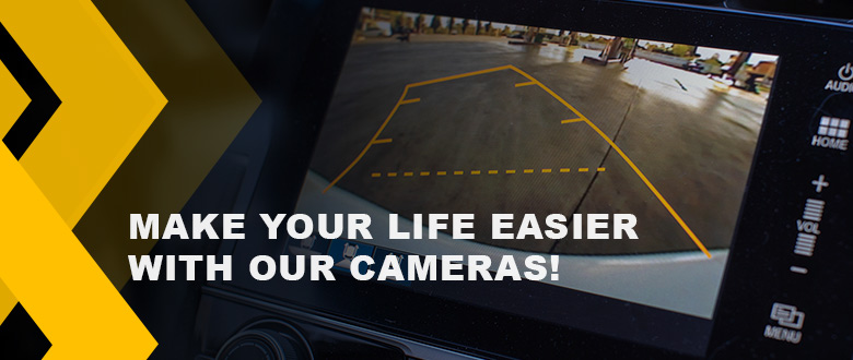 Easy Parking and More Safety with Cameras in Your Car!