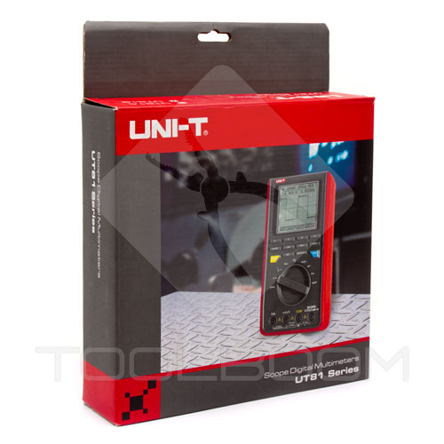 Package of UNI-T UT81B scope multimeter