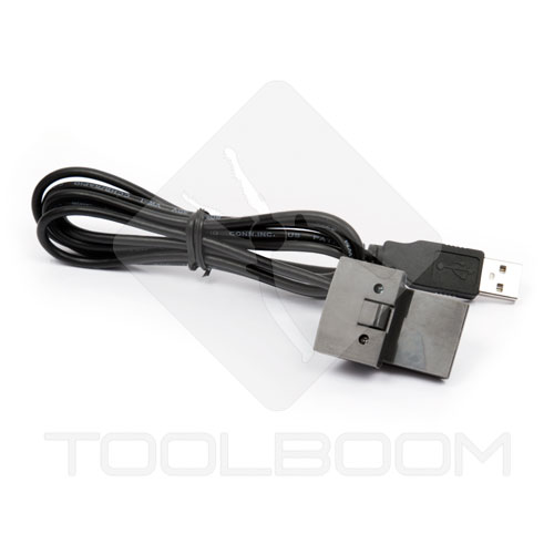 Connection USB cable of UNI-T UT81B scope multimeter