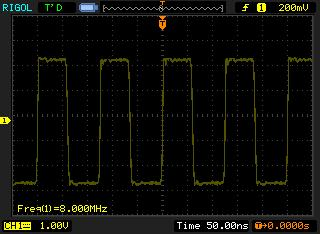 Meander is taken by Rigol DS1102E oscilloscope