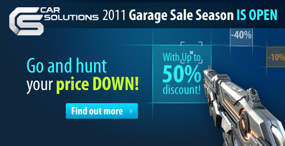Garage Sale at Car Solutions