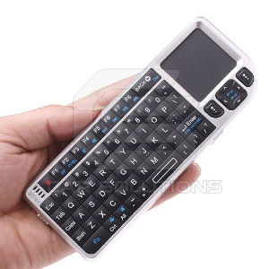Wireless Ultra Mini Keyboard with Touchpad