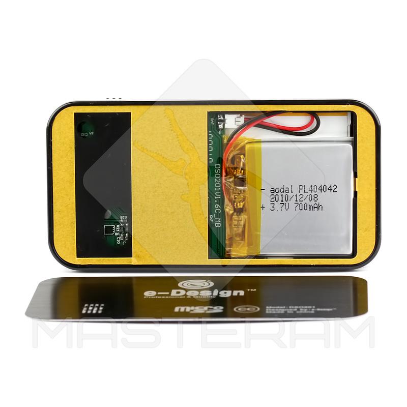 Установка аккумулятора карманного осциллографа DSO Nano201