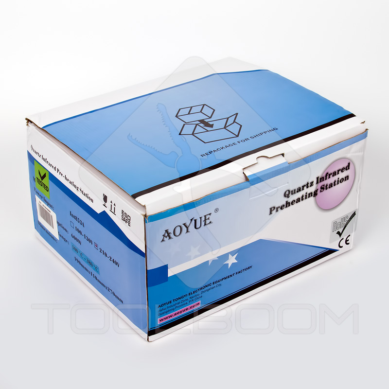 AOYUE Int 853A Infrared Preheater Packaging