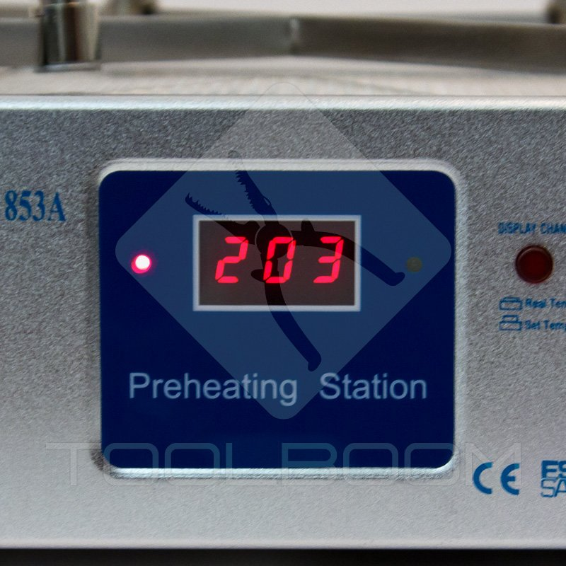 Cooling Mode of AOYUE Int 853A Quartz Infrared Preheating Station