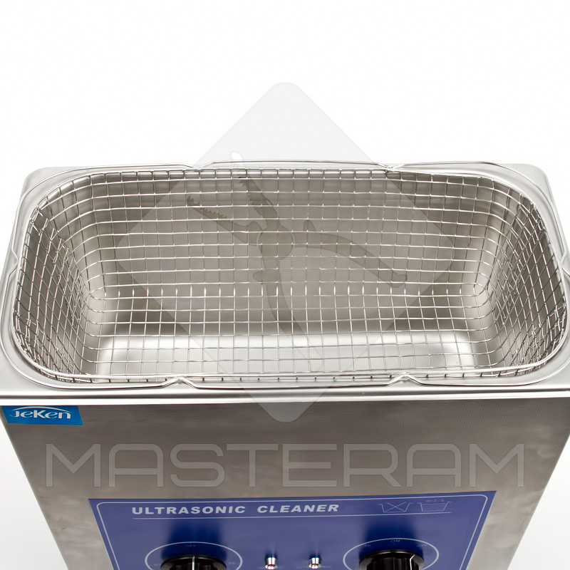 Tank and a basket of Codyson PS-30 ultrasonic cleaner