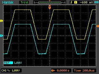 Reference signal function of Hantek DSO8060 digital oscilloscope