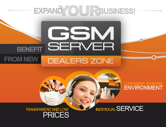 GsmServer Dealers Zone
