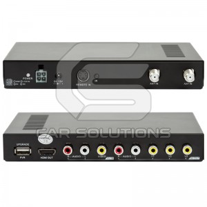 Car Digital DVB-T TV Receiver with PVR Function