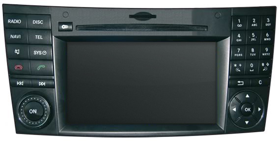 Mercedes-Benz Comand NTG2.5 Head Unit