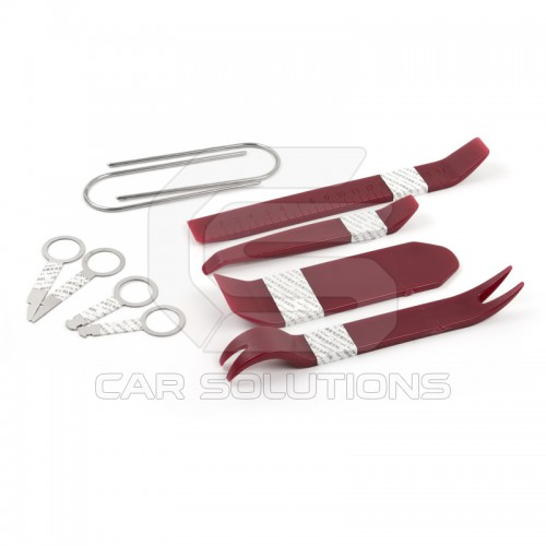 Trim and radio removal tool kit (10 pieces)