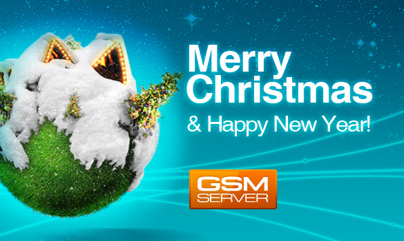 A Merry Christmas to Everybody! A Happy New Year to all GSM Community!