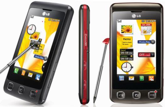 Teléfono celular LG KP500