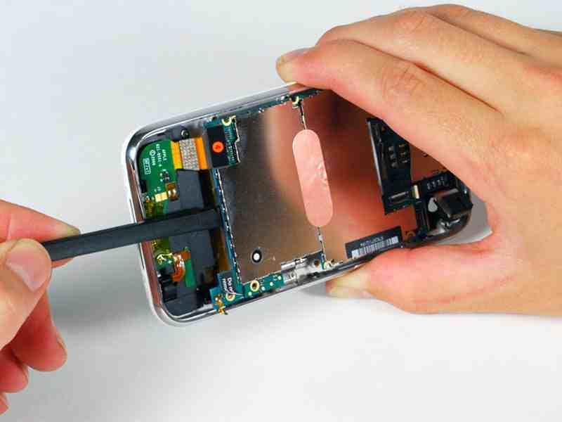 Ремонт материнской платы iphone своими руками