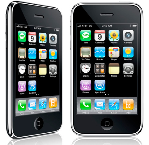 Teléfono celular iPhone Apple 3G/GS