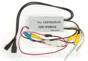 Car Video Interface with Video in Motion Function for Lexus 2010∼